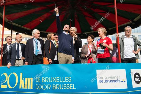 Editorial picture of 20km run, Brussels, Belgium - 28 May 2017