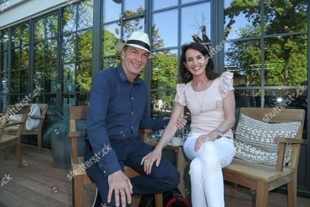 Herbert Knaup and Christiane Knaup