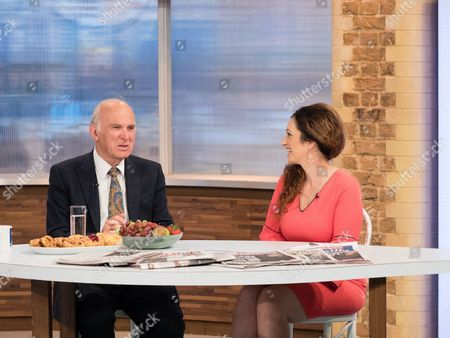 Stock Image of Vince Cable and Tasmina Ahmed-Sheikh