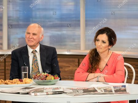 Vince Cable and Tasmina Ahmed-Sheikh
