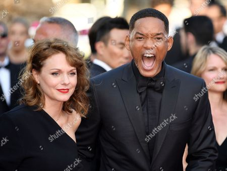 Maren Ade and Will Smith