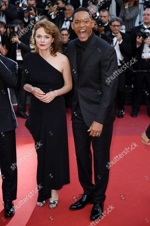 Stock Image of Maren Ade and Will Smith