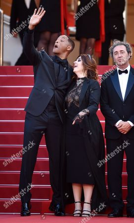 Will Smith and Agnes Jaoui