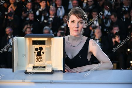 "Director Leonor Serraille winner of Camera d'Or for ""Jeune Femme """