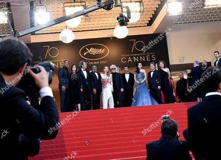 Will Smith, Agnes Jaoui, Paolo Sorrentino, Gabriel Yared, Pedro Almodovar, Fan Bingbing, Park Chan-Wook, Maren Ade