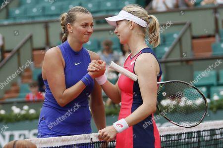 Petra Kvitova wins against Julia Boserup