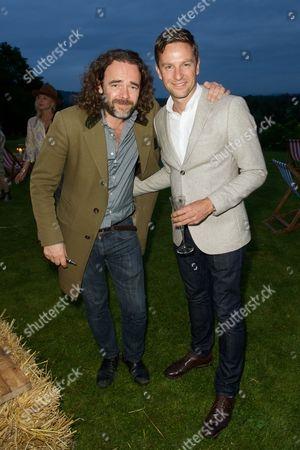 Jamie Byng and Lucas Webb