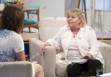 Stock Image of Lorraine Kelly and Sue Hodge