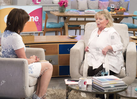 Lorraine Kelly and Sue Hodge