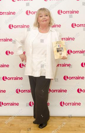 Sue Hodge with her book 'Mimi's Memoirs - 'Allo 'Allo''