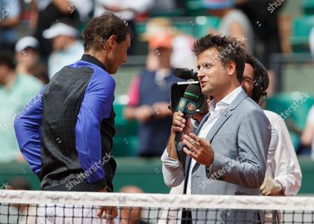 Fabrice Santoro and Rafael Nadal