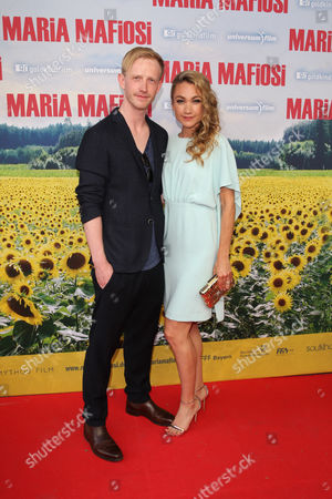 Stock Photo of Lisa Maria Potthoff, David Zimmerschied,