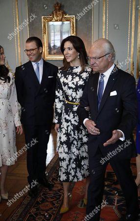 Editorial image of Danish royals visit Stockholm, Sweden - 30 May 2017
