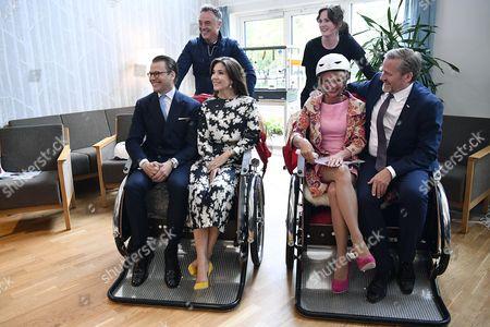 Prince Daniel, Crown Princess Mary, Asa Regner, Anders Samuelsen,