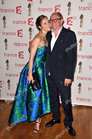 Delphine Depardieu and Alain Depardieu