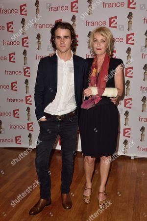 Fanny Cottencon and Maxime Coggio