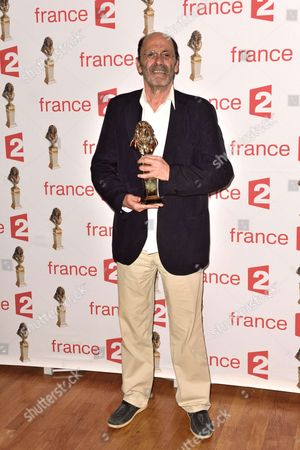 Jean Pierre Bacri, Moliere best of the comedian of private theater for 'Les Damnes'