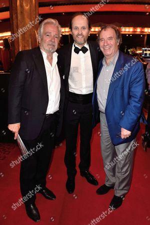 Pierre Arditi, Jean Marc Dumontet and Daniel Russo