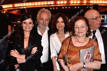 Salome Lelouch, Pierre Arditi and Evelyne Bouix and Catherine Arditi