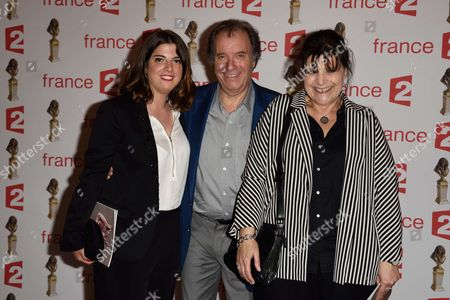 Charlotte Russo, Daniel Russo and Francoise Pinkwasser