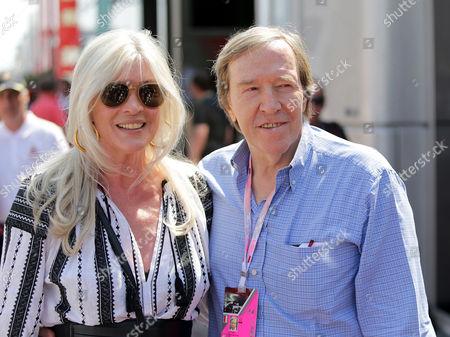 Guenter Netzer with wife Elvira