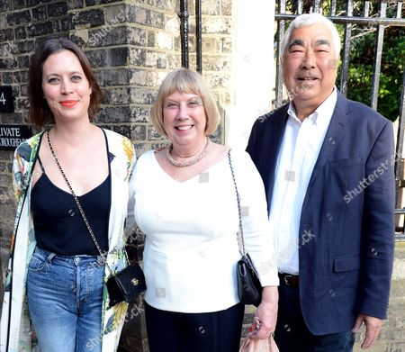 Natalie Chung, Gillian Chung and Philip Chung