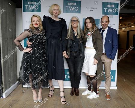 Gwendoline Christie, Jane Campion, Elisabeth Moss, David Dencik, Ariel Kleiman, Gerard Lee. Alice Englert