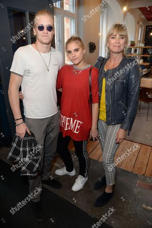 Stock Picture of Rufus Taylor, Tigerlily Taylor and Deborah Leng