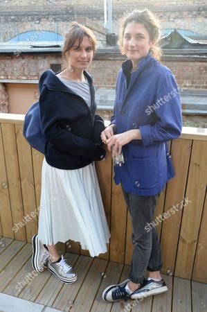 Sheherezade Goldsmith and Daisy Bevan