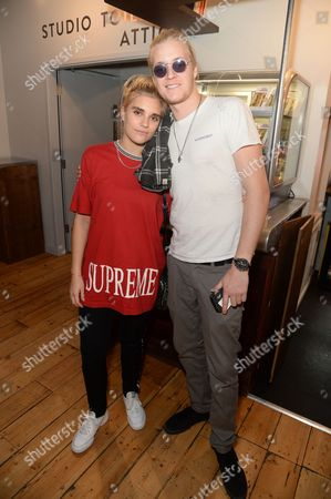 Tigerlily Taylor and Rufus Taylor