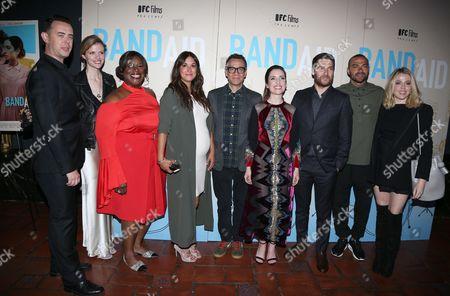 Colin Hanks, Brooklyn Decker, Angelique Cabral, Fred Armisen, Zoe Lister Jones, Adam Pally, Jessie Williams and Majandra Delfino