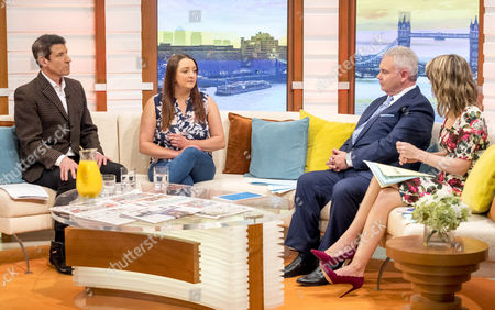 Dr Aric Sigman And Jodie White with Eamonn Holmes and Charlotte Hawkins