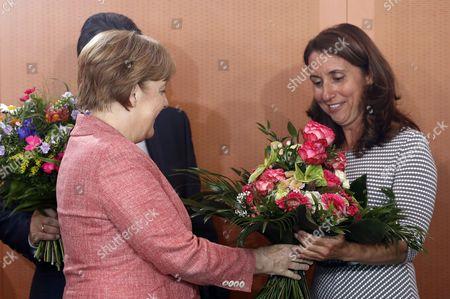 Angela Merkel and Aydan Ozoguz