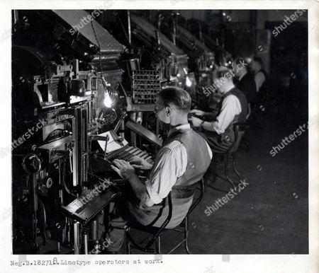 Linotype Stock Photos, Editorial Images and Stock Pictures