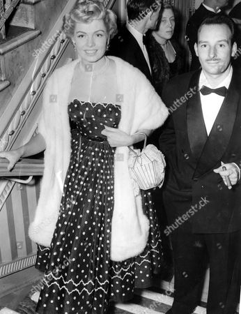 Val Guest Film Director Actor And Writer (1911-10th May 2006) With His Wife Actress Yolande Donlan