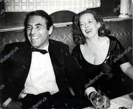 Bette Davis (1908-1989) And Fourth Husband Actor Gary Merrill (1915-1990) Enjoying A Joke At Churchill's In 1951. They Married In August 1950 And Were Divorced In 1960.