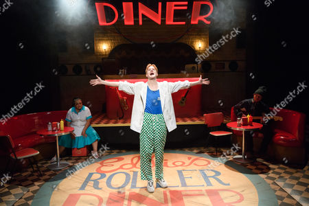Editorial picture of 'Roller Diner, Home of the Full English Breakfast' Play, The Soho Theatre, London, UK - 30 May 2017
