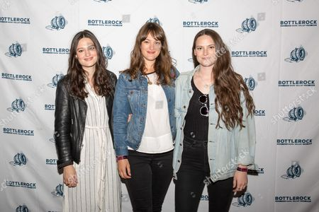 Stock Image of The Staves - Jessica Staveley-Taylor, Emily Staveley-Taylor and Camilla Staveley-Taylor