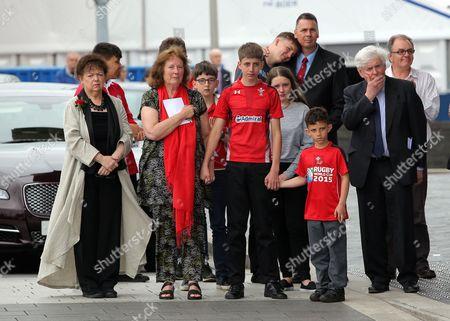 Editorial picture of Rhodri Morgan funeral, Senedd, Cardiff, Wales, UK - 31 May 2017