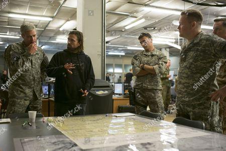 Brad Pitt, David Michod, Anthony Hayes