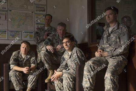 Stock Image of Anthony Hayes, Daniel Betts, Anthony Michael Hall, John Magaro, Topher Grace