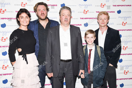 Editorial image of 'The Hippopotamus' film premiere, London, UK - 31 May 2017