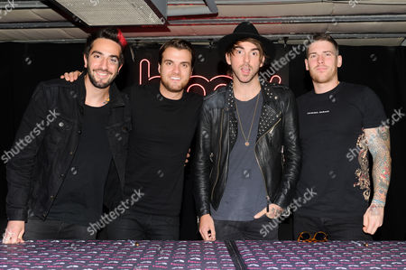 All Time Low - Zack Merrick, Robert Rian Dawson, Alex Gaskarth and Jack Barakat