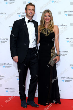 Stock Image of Holly Branson and husband Fred Andrews