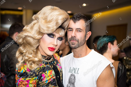 Jodie Harsh and Jeremy Kost
