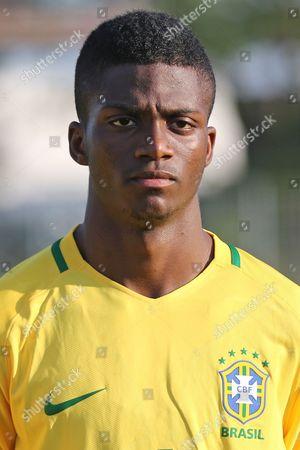 Michael Dos Santos De Almeida of Brazil during Brazil Under-20 vs Indonesia Under-20, Toulon Tournament Football at Stade d'Honneur Marcel Roustan on 31st May 2017