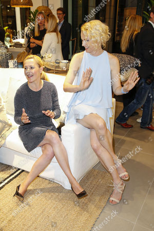 Bettina Wulff and Franziska Knuppe