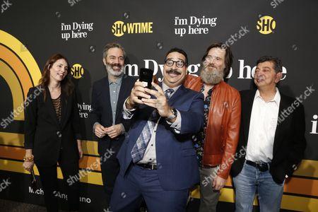 Christina Wayne, Michael Aguilar, Erik Griffin, Jim Carrey, David Flebotte