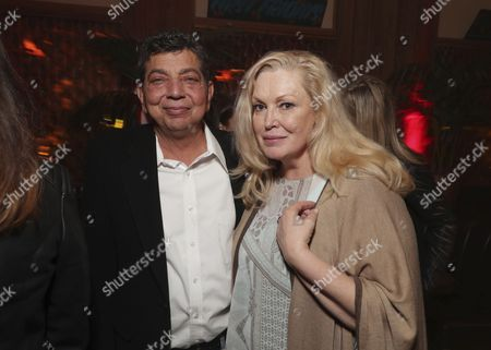 Stock Photo of Dave Flebotte, Cathy Moriarty