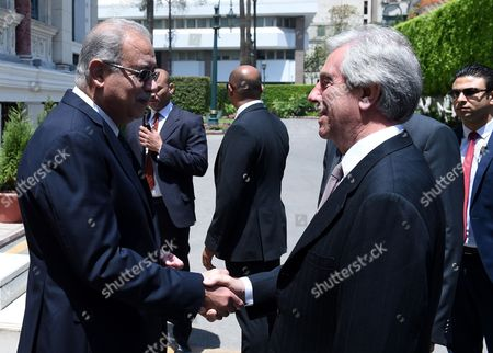 Tabare Vazquez and Sherif Ismail